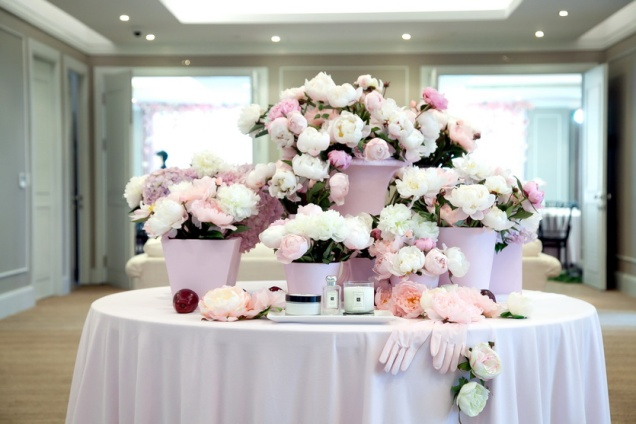 Jo Malone London Peony & Blush Suede Press Event