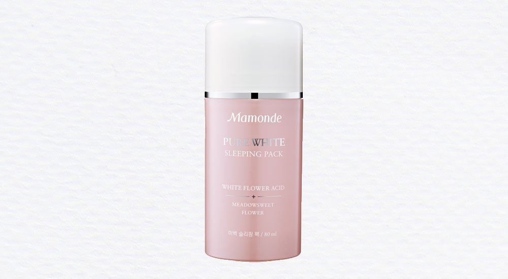 Mamonde-Pure-white-sleeping