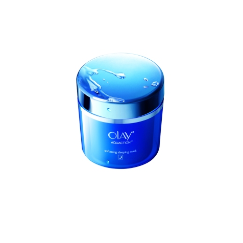 OLAY AquAction Softening Sleeping Mask1