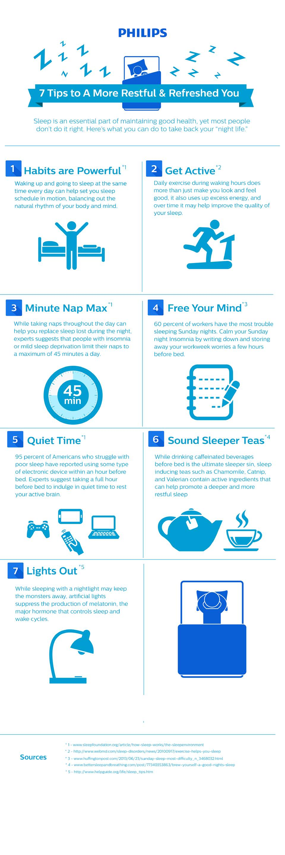 7 Tips to a More Restful & Refreshed You